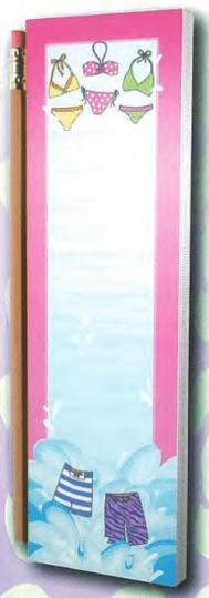 Bikini Splash List Pad