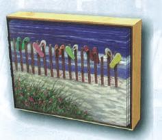 Flip Flop Fence