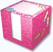 Flip Flop Note Cube